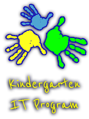 Kindergarten IT Program Logo
